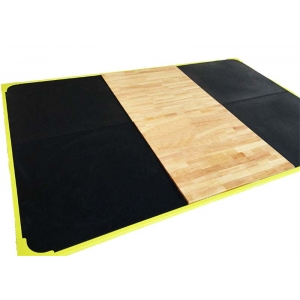 "China China 118 ""x 118"" rubber weight lifting platform supplier factory"