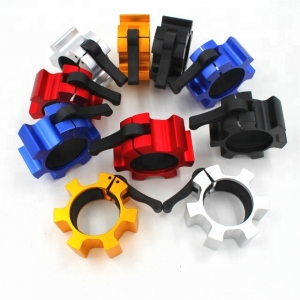 Hard Aluminum Lock Jaw Barbell Clip Collar