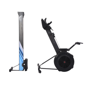 China New design indoor professional strength gym fitness air rowing machine factory