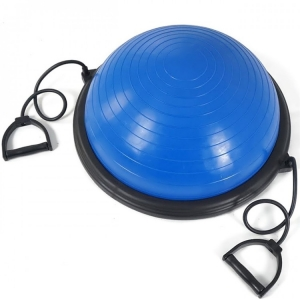 Chinese supplier half ball blue gym balance ball
