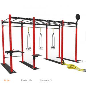 China Mulit Function Training Free Standing Cross Fitness Rigs factory