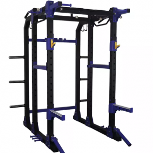 China Multifunctional Fitness Weightlifting Equipment Power Rack Lat Attachment Commercial Gym strength power cage factory
