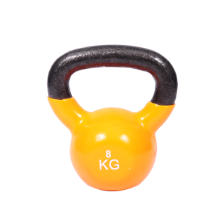 Кита Neoprene Kettlebell Solid Cast Iron Vinyl Coated Kettlebell завод