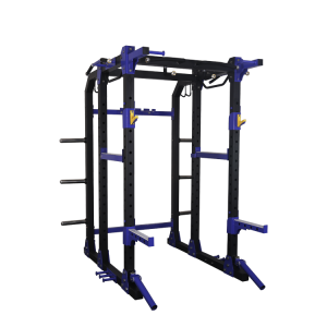 China POWER SQUAT RACK CAGE STANDS | CHIN UP & DIPPING STATION factory