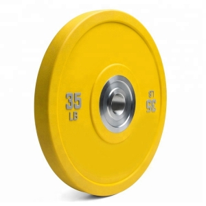 PU Durable bumper weight plate set
