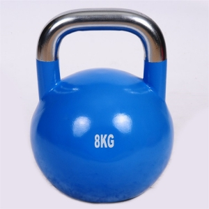 Pro grade colorful high performance men and women use steel competition kettlebell