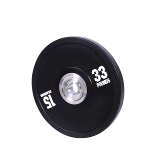 China High quality black rubber bumper weight plates barbell plates factory