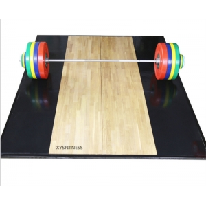 China heavy duty strength training gym use weightlifting platform factory