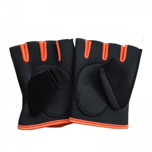 China Weight Lifting Gloves Biking Gloves Training Gloves Grip Gloves Fitness Gym Exercise Half Finger Gloves Outdoor/Indoor Sports Mitten factory