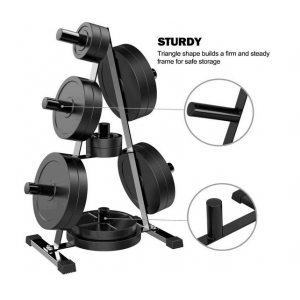 China Wholesale Fitness Stand Bumper Plate Storage Rack factory