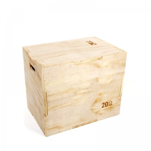 Wood Plyometric Box for Jump Training Jump Box For CF Training MMA Plyometric Agility