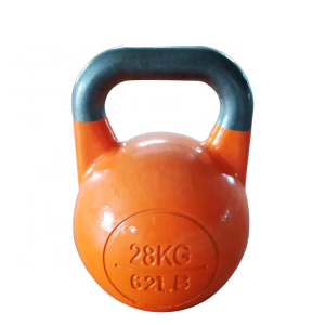 China hot sale competition Cast Iron Kettlebell factory
