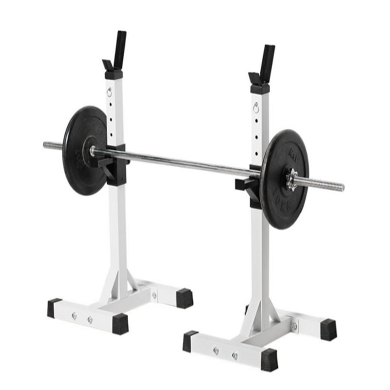 Adjustable Standard Solid Steel Squat Stands Gym Portable Barbell Racks  Exercise Rack For Home Gym Exercise ...