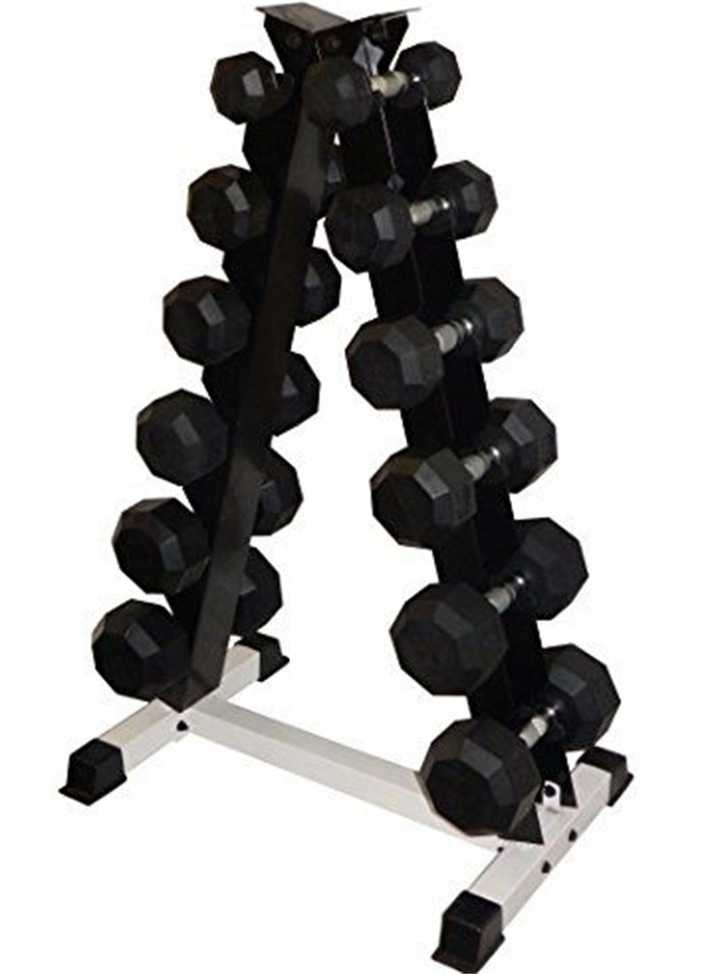 China 6 Pair Triangle Dumbbell Rack Stand Free Weight For