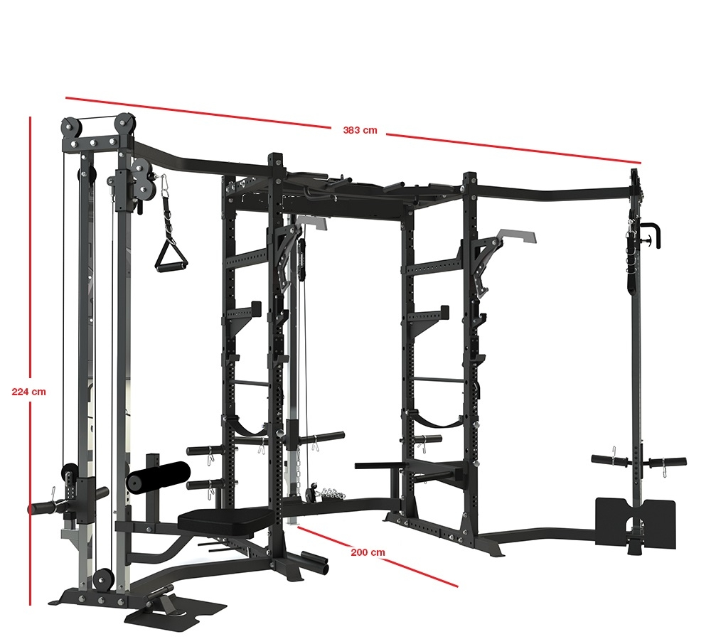 China Complete Modular Power Rack For Fitness Supplier