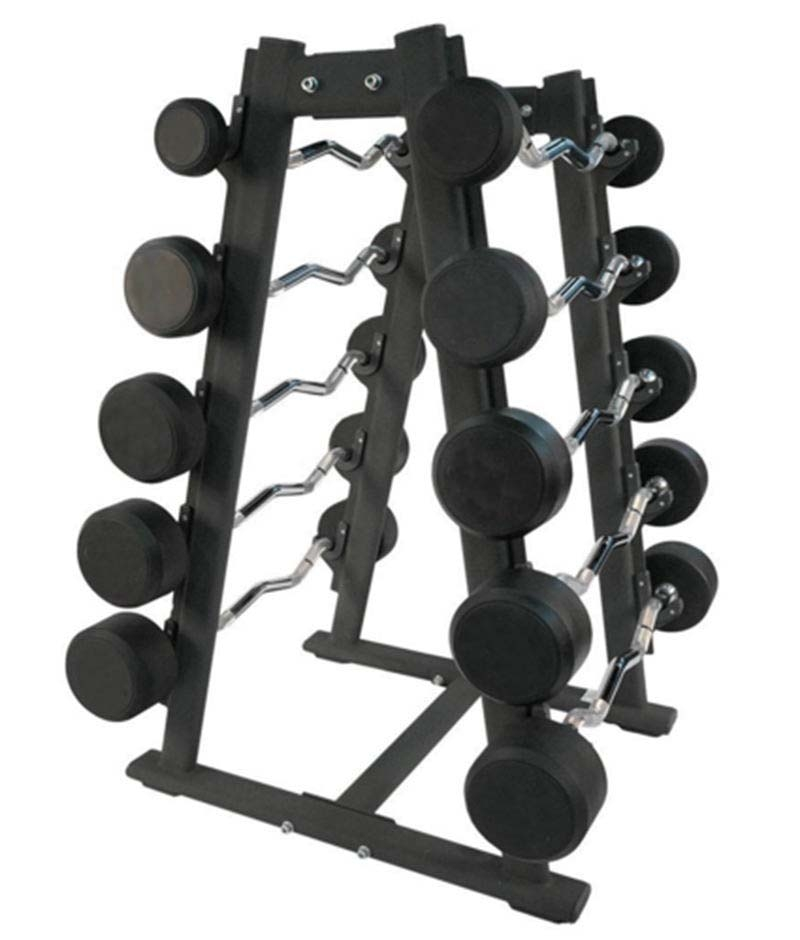 China Commercial Barbell A Frame Storage Rack For Easy