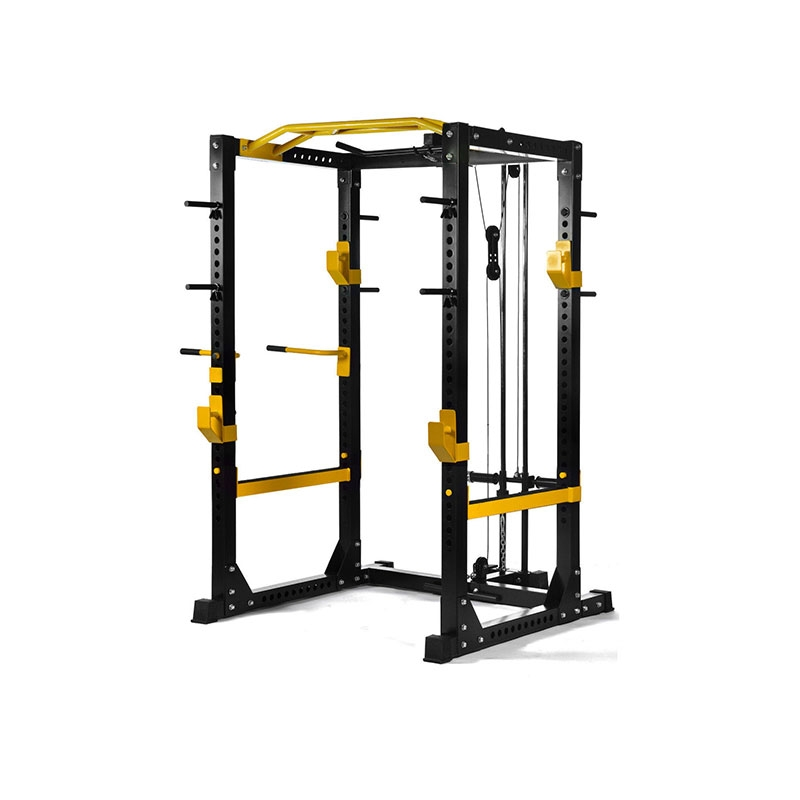 China Crossfit Power Cage Double Half Rack Supplier