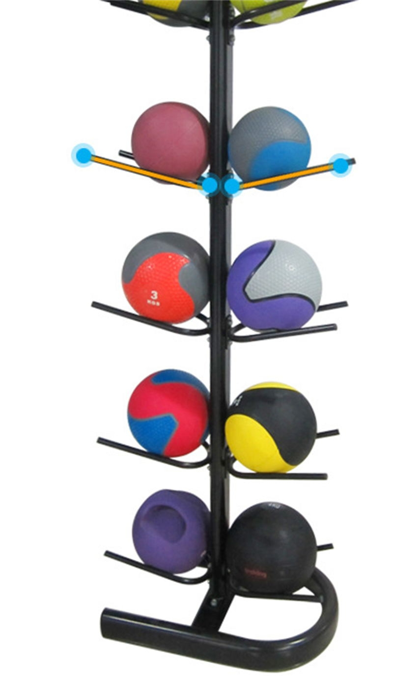 China Offside Fitness Ball Rack For Medicine Ball Wall