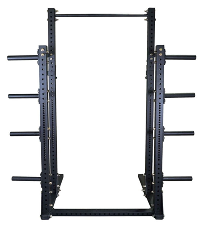 China Squat Half Power Rack With Plate Storage Good For A