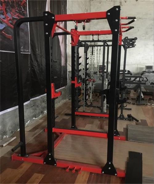 Adjustable Strength Training Fitness Power Rack With