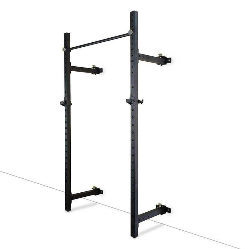 China wall mount foldable squat power rack with for Squat rack set