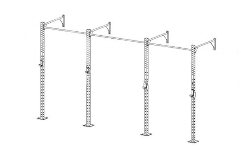 China Commercial Pull Up Wall Mounted Crossfit Rig Free